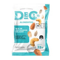 Mix de frutos secos salado - Dec Alimentos - 35 g