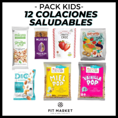 Pack Kids - 12 colaciones saludables