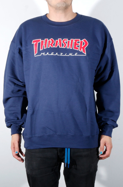 Thrasher Buso Sencillo Outlined