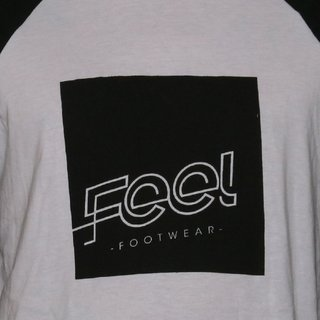 Feel Footwear Camiseta 3/4 Logo en internet