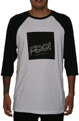 Feel Footwear Camiseta 3/4 Logo