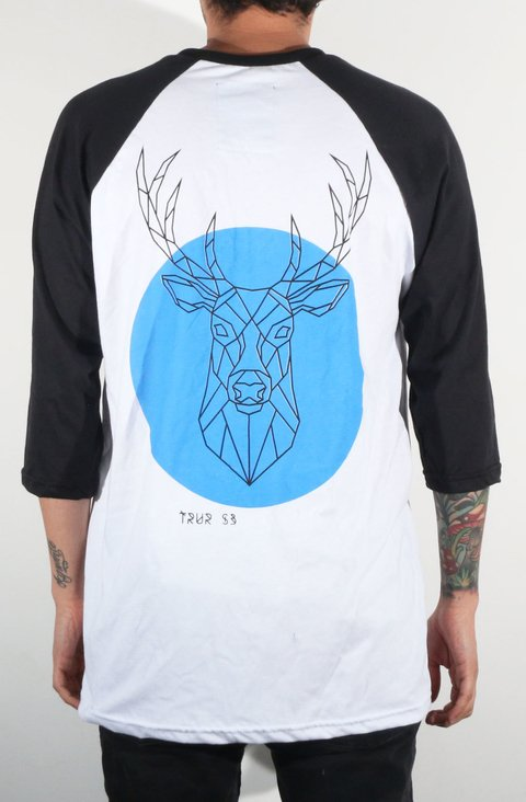 TRUR Skateboards Camiseta 3/4 GM Venado