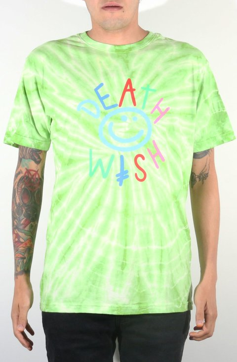 Deathwish Camiseta World Peace Tie Dye