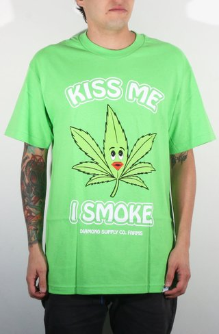 Diamond Camiseta Kiss Me 4/20