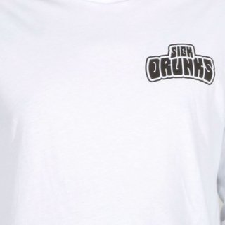 Sick Drunks Camiseta Manga Larga Logo en internet