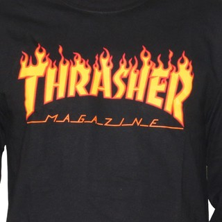 Thrasher Camiseta Manga Larga Flame en internet