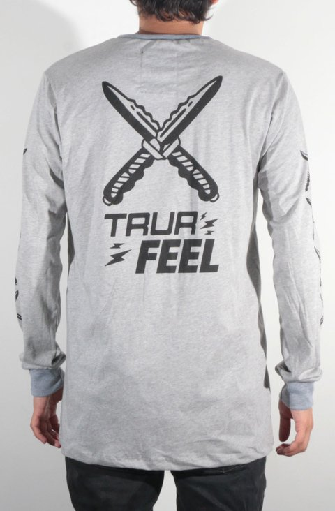 TRUR Skateboards Camiseta Manga Larga X Feel