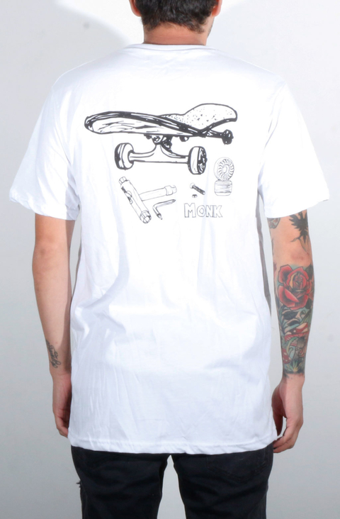 Monk Camiseta Pincel Skate