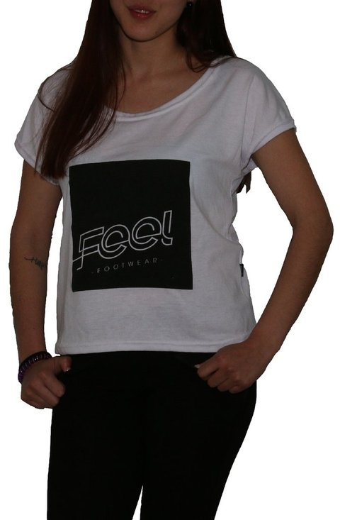 Feel Footwear Logo Camiseta