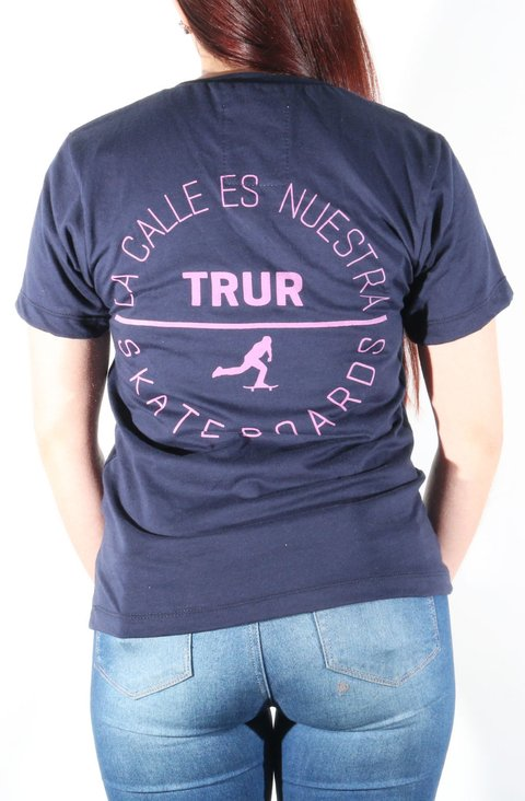 TRUR Skateboards Camiseta Niña Conic