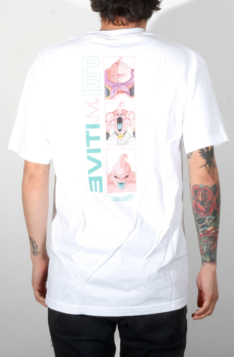 Primitive Camiseta Majin Buu Forms