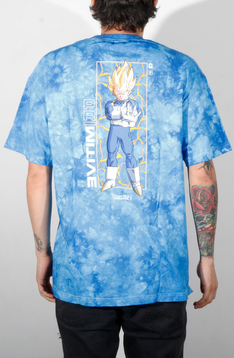 Primitive Camiseta Vegeta Glow