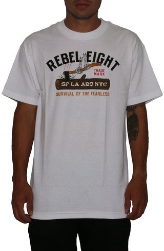 Rebel 8 Camiseta Survival Of The Fearless