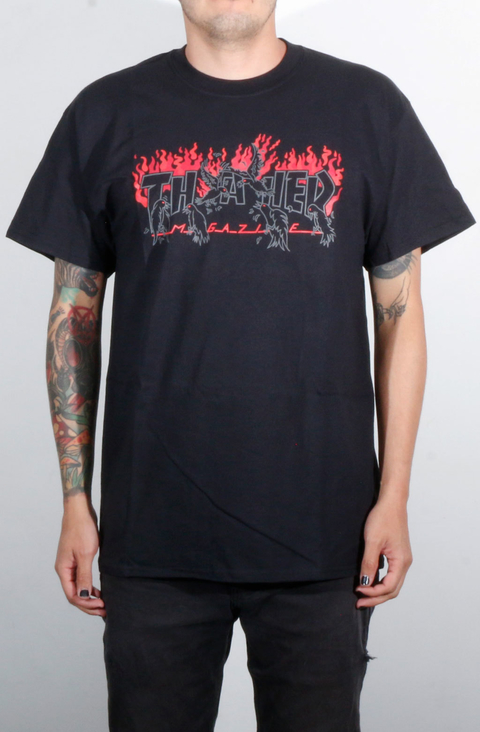 Thrasher Camiseta Crows