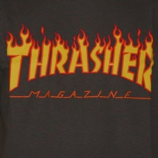 Thrasher Camiseta Flame en internet