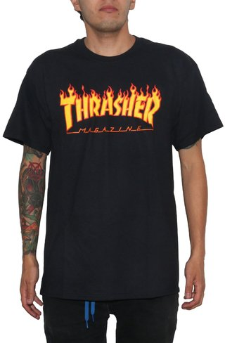 Thrasher Camiseta Flame