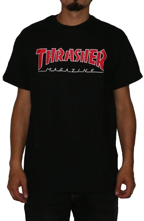 Thrasher Camiseta Outlined