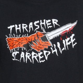 Thrasher Camiseta Scarred en internet