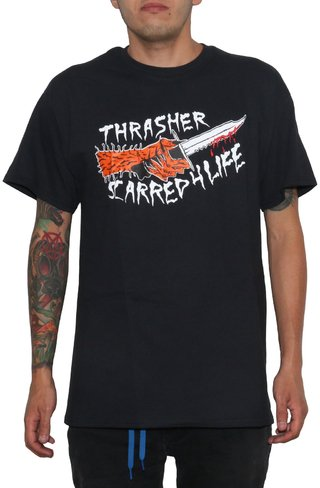 Thrasher Camiseta Scarred