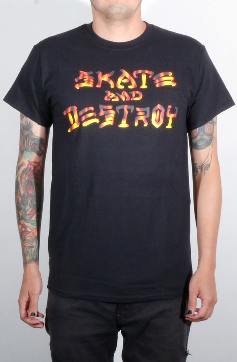 Thrasher Camiseta Skate And Destroy BBQ
