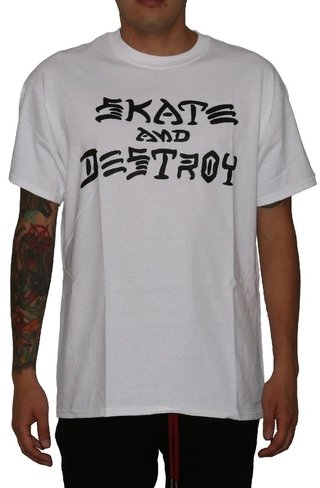 Thrasher Camiseta Skate And Destroy