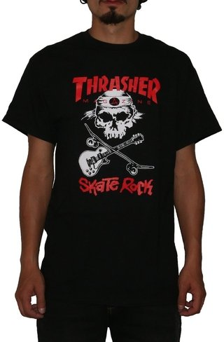 Thrasher Camiseta Skate Rock