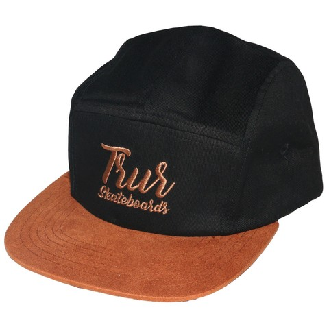 TRUR Skateboards Gorra 5 Panel Script