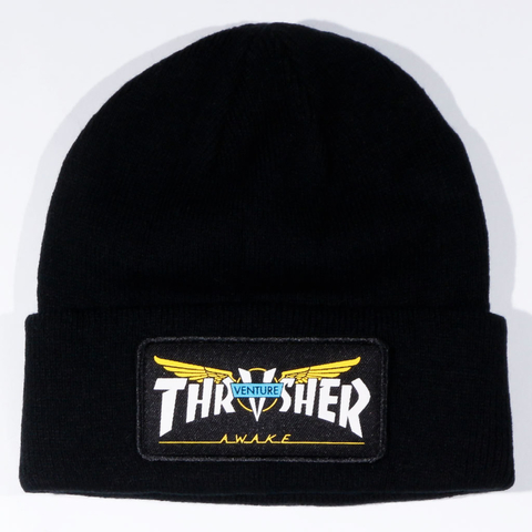 Thrasher Gorro Venture Collab Patch