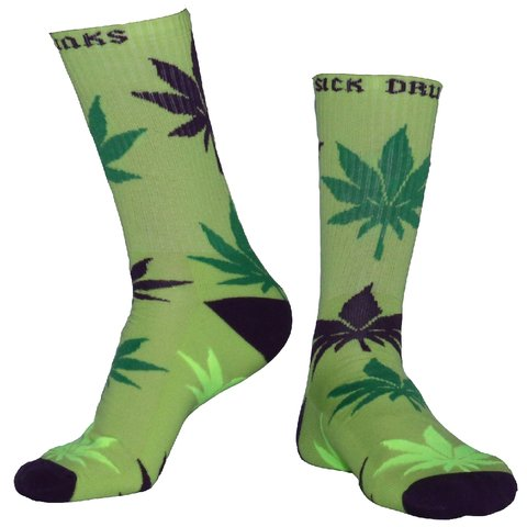 Sick Drunks Medias Marihuana