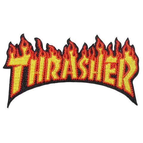 Thrasher Parche Flame
