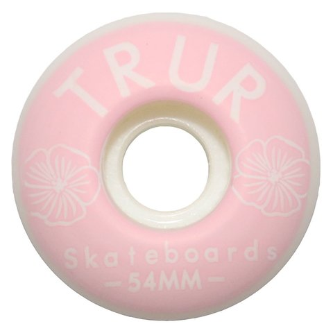 TRUR Skateboards Ruedas Rosas 54mm