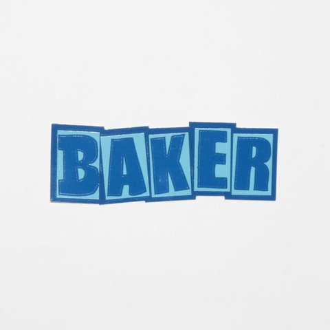 Baker Sticker Logo Mediano