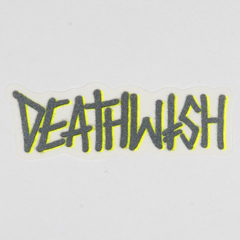 Deathwish Sticker Deathspray Mediano