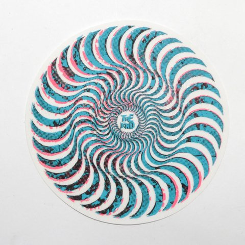 Spitfire Sticker Neverminds Swirl Mediano