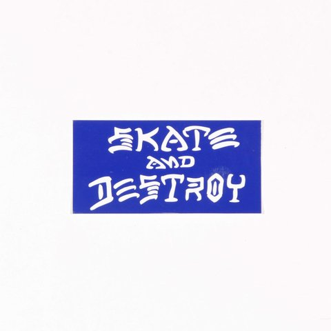 Thrasher Sticker Skate And Destroy Mediano