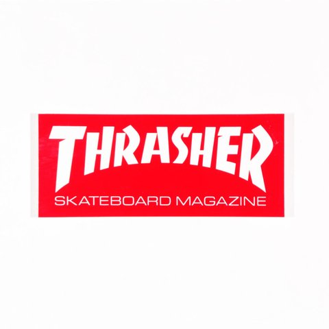 Thrasher Sticker Skatemag Mediano