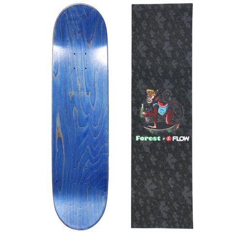 TRUR Skateboards Tabla Borde Floral - tienda online