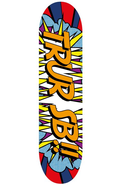 TRUR Skateboards Tabla Pop Art Pow