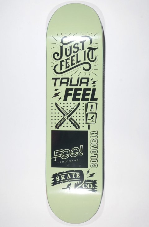 TRUR Skateboards Tabla X Feel