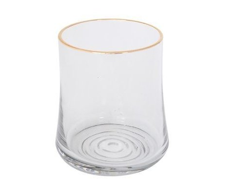 VASO BLACK GLASS