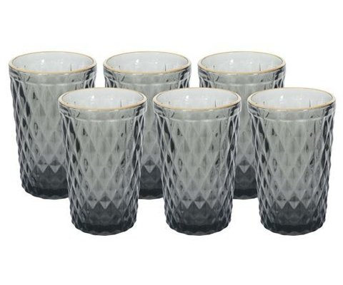 VASO ALTO DIAMOND  SET X6