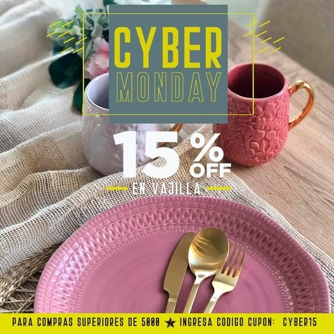 CUPON: CYBER15