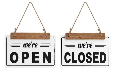 CARTEL OPEN/CLOSED