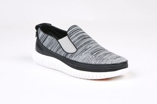 COMBO RUNNING WHITE + MOCASSINO JACQUARD GREY - comprar online