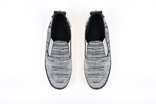COMBO RUNNING WHITE + MOCASSINO JACQUARD GREY en internet