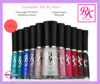 1 Kit de esmaltes RK by Kiss com 10 unid no total