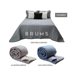 · Cover Matelasse Chambray · - brums