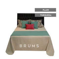 · Pie de cama Plain · - brums