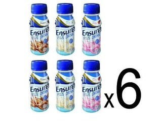 Ensure Plus Liquido X 6 Unidades De 237ml Vs Sabores