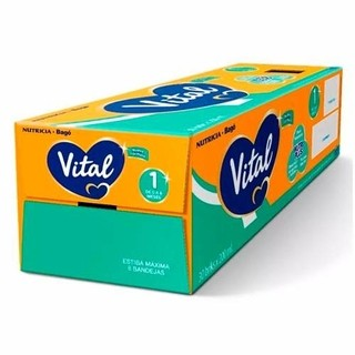 Vital 1 Formula Lactea Liquida 30 Bricks 200ml